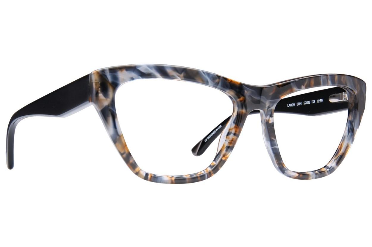 L.A.M.B. By Gwen Stefani LA009 Eyeglasses - Brown