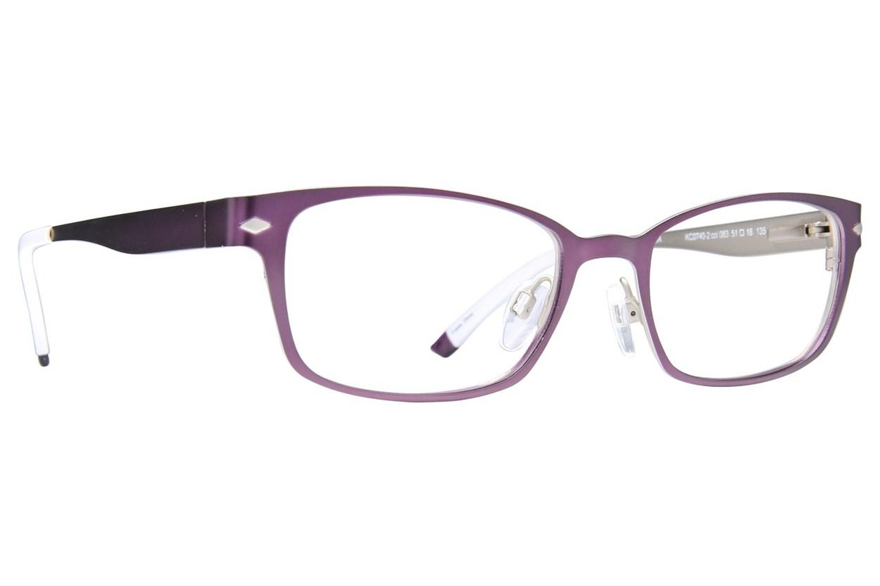Kenneth Cole Reaction KC0740 Eyeglasses - Purple