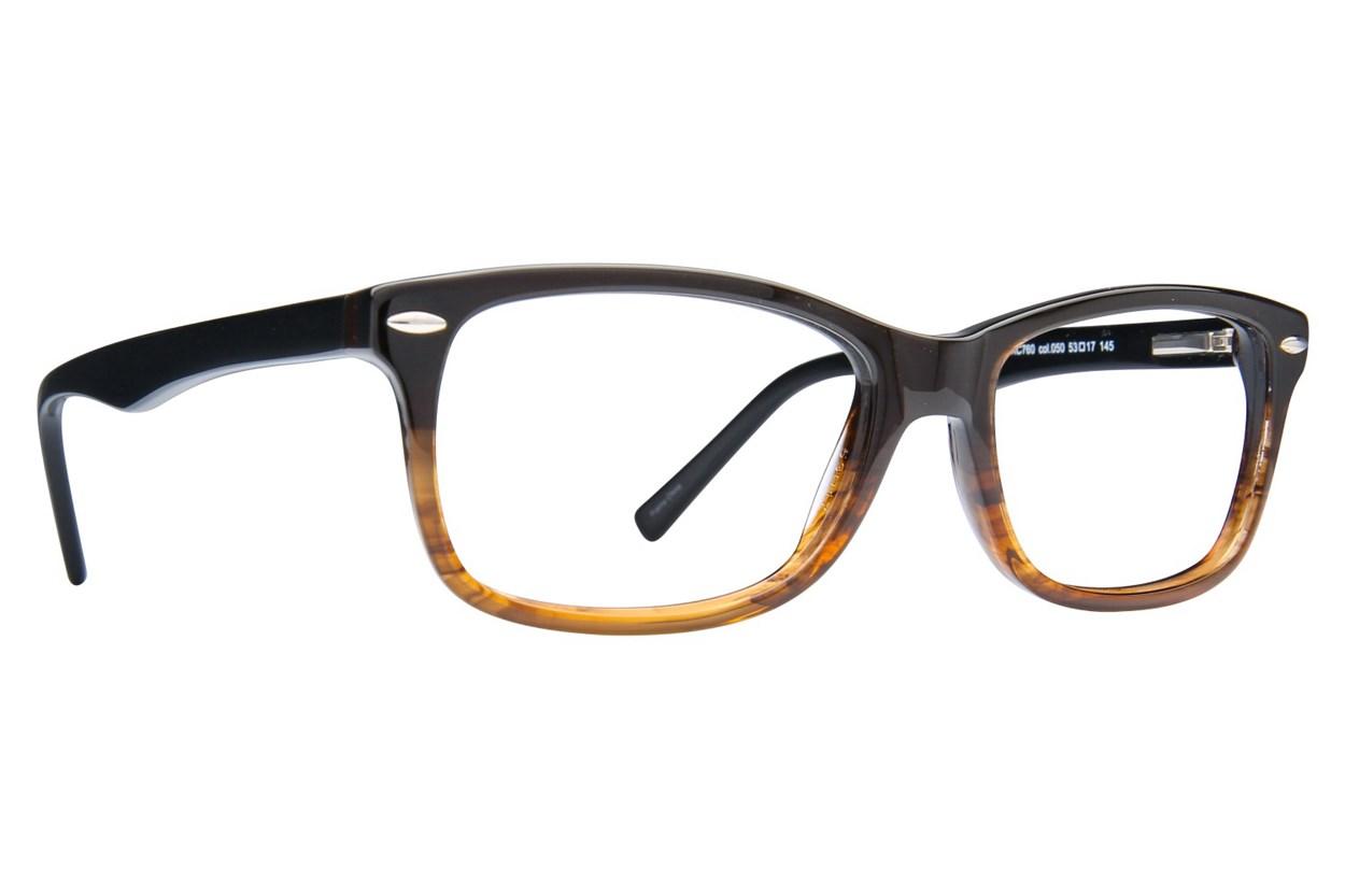 Kenneth Cole Reaction KC0760 Eyeglasses - Brown