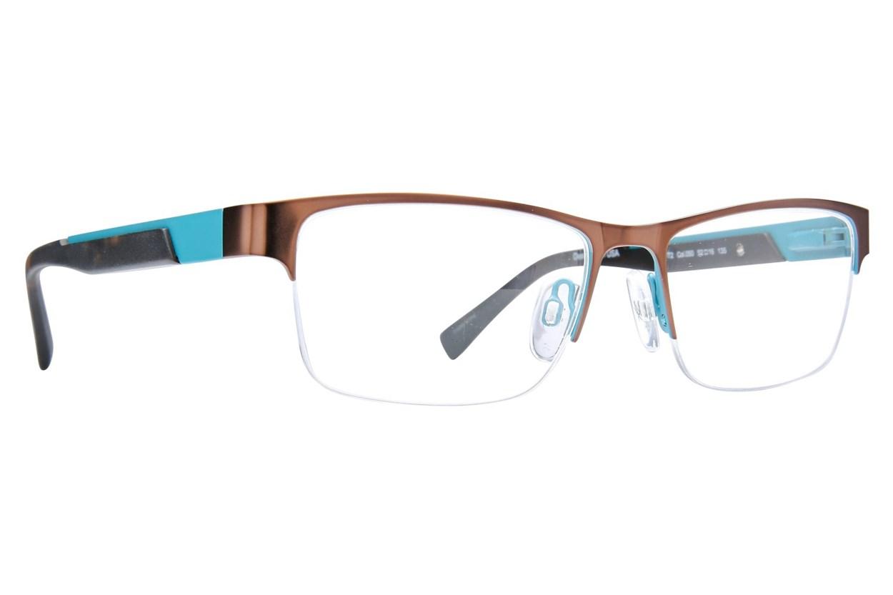 Kenneth Cole Reaction KC0772 Eyeglasses - Brown