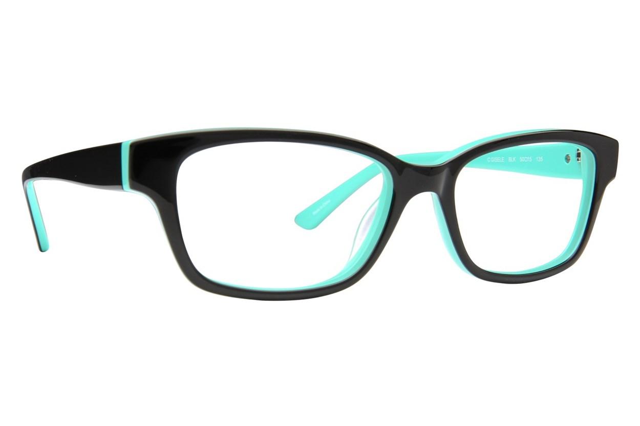 Candie's Gisele Eyeglasses - Black