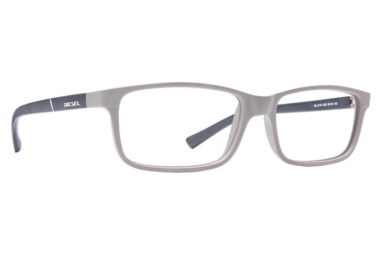 Diesel DL 5179 Eyeglasses - Tan
