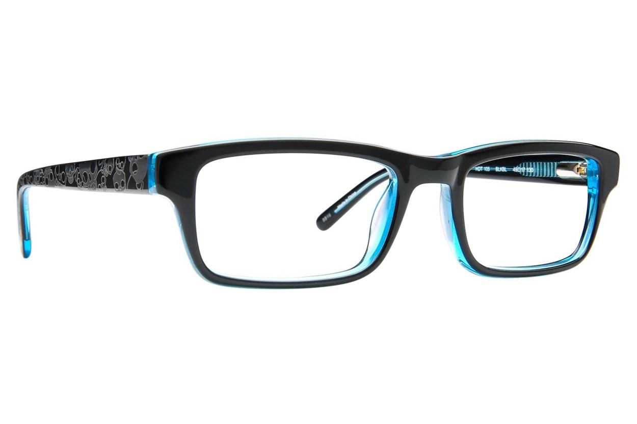 Harley Davidson HDT 105 Eyeglasses - Black