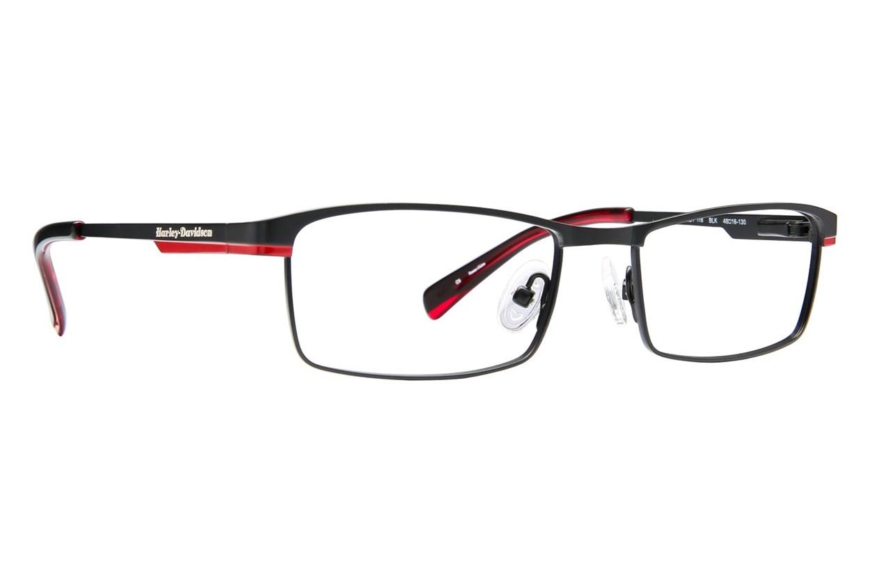 Harley Davidson HDT 118 Eyeglasses - Black