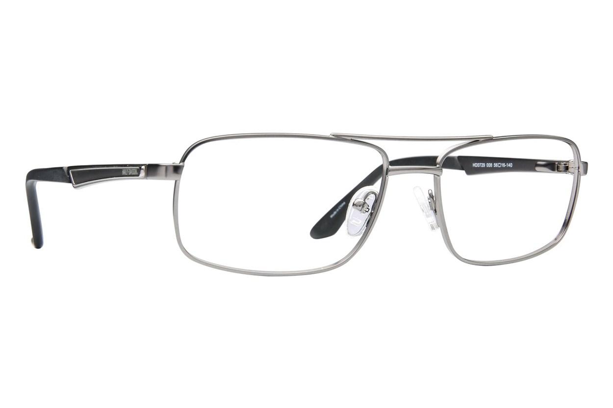 Harley Davidson HD 729 Eyeglasses - Gray