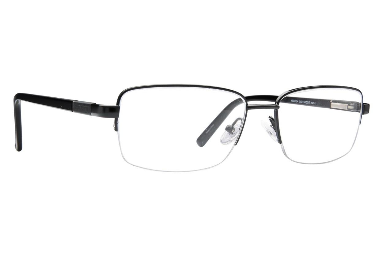Harley Davidson HD 734 Eyeglasses - Black
