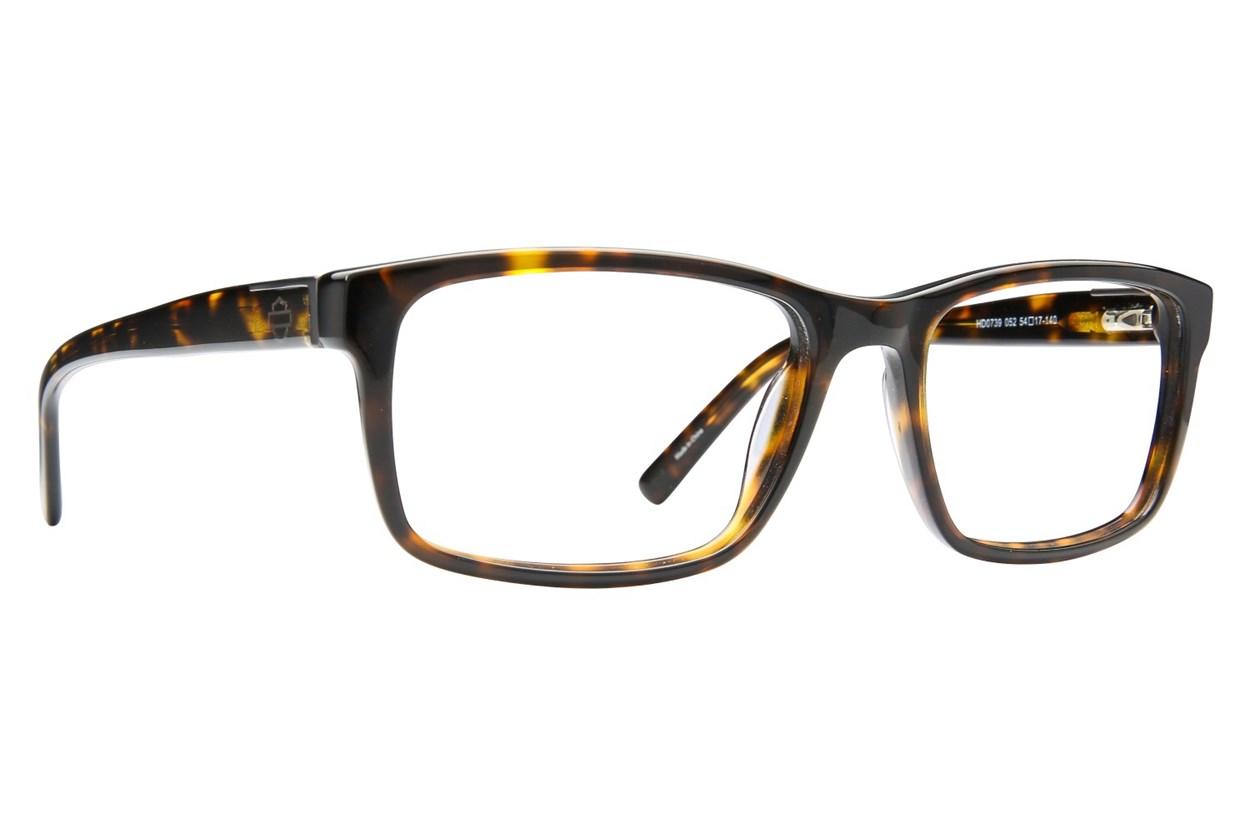 Harley Davidson HD 739 Eyeglasses - Tortoise