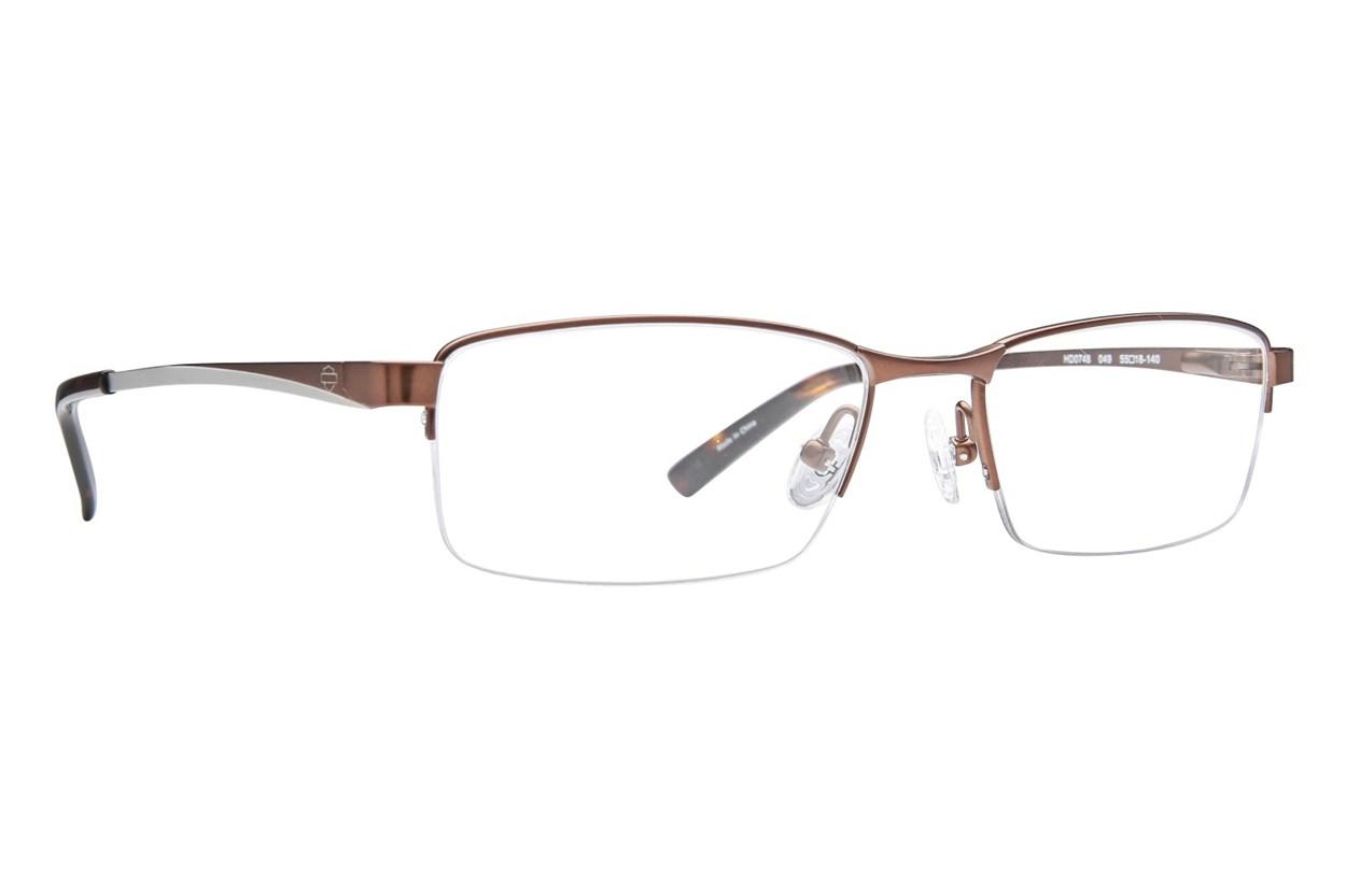 Harley Davidson HD 748 Eyeglasses - Brown