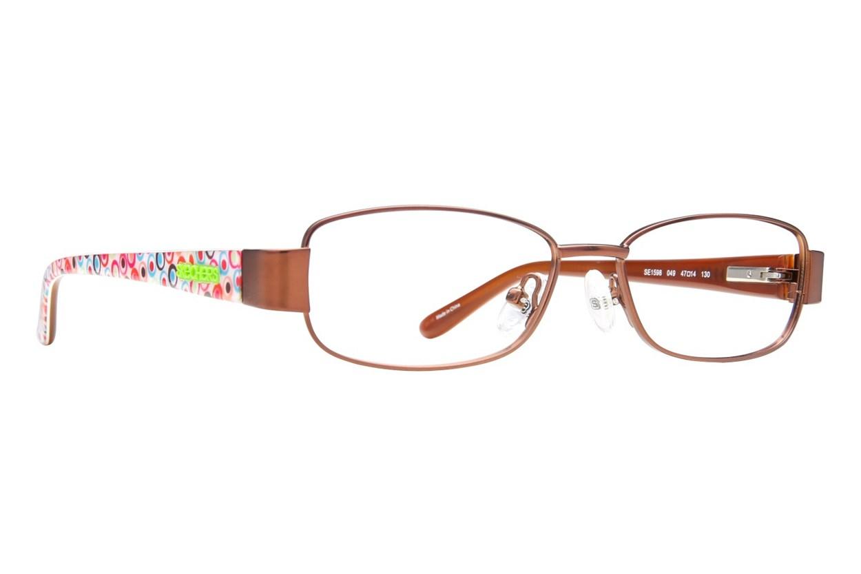 Skechers SE 1598 Eyeglasses - Brown