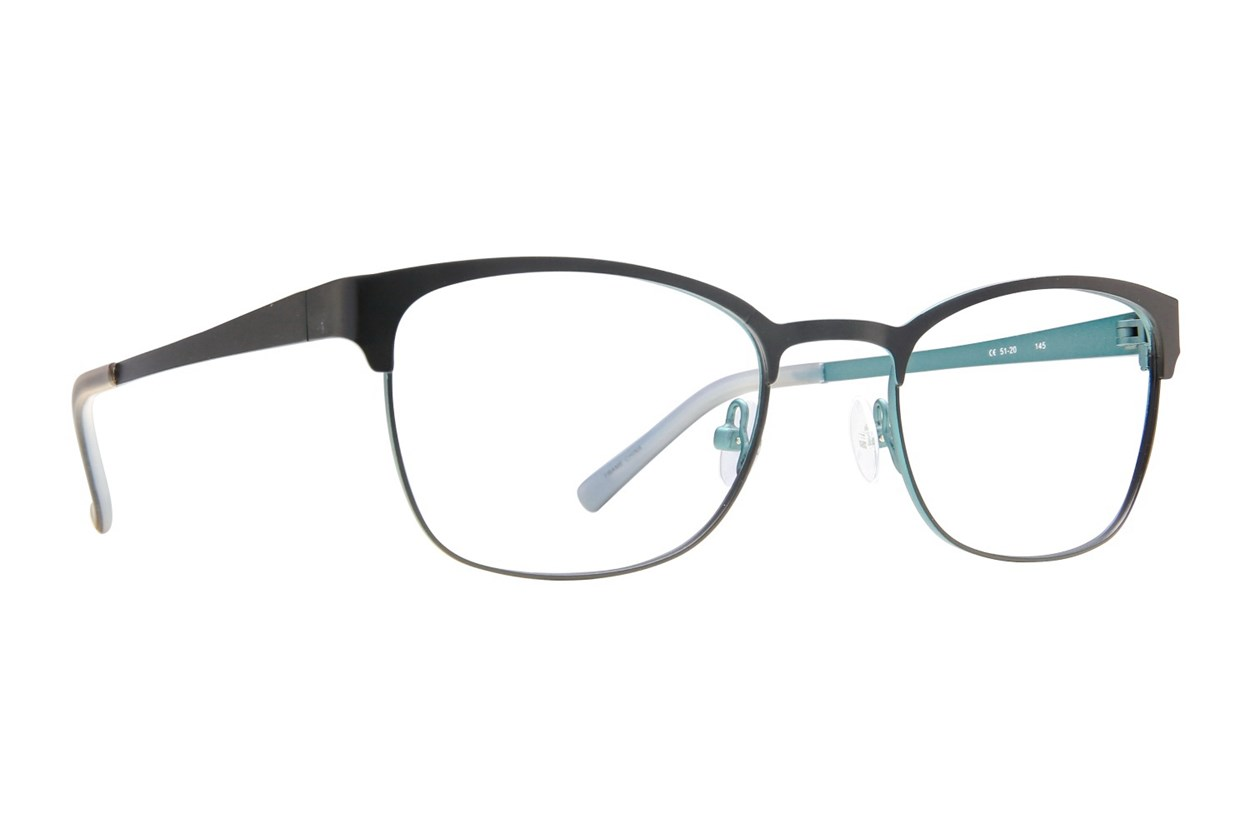 Flextra 1707 Eyeglasses - Black