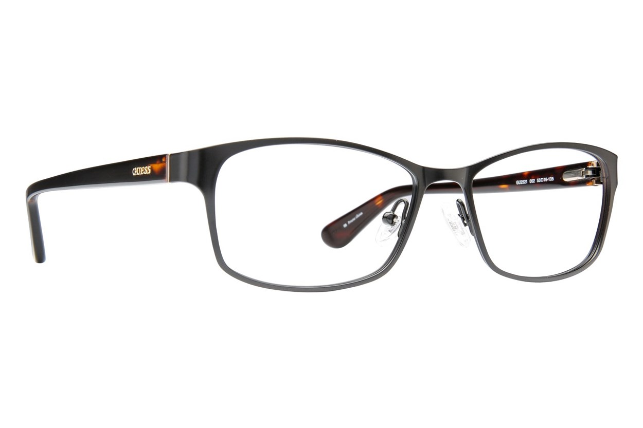 GUESS GU 2521 Eyeglasses - Black