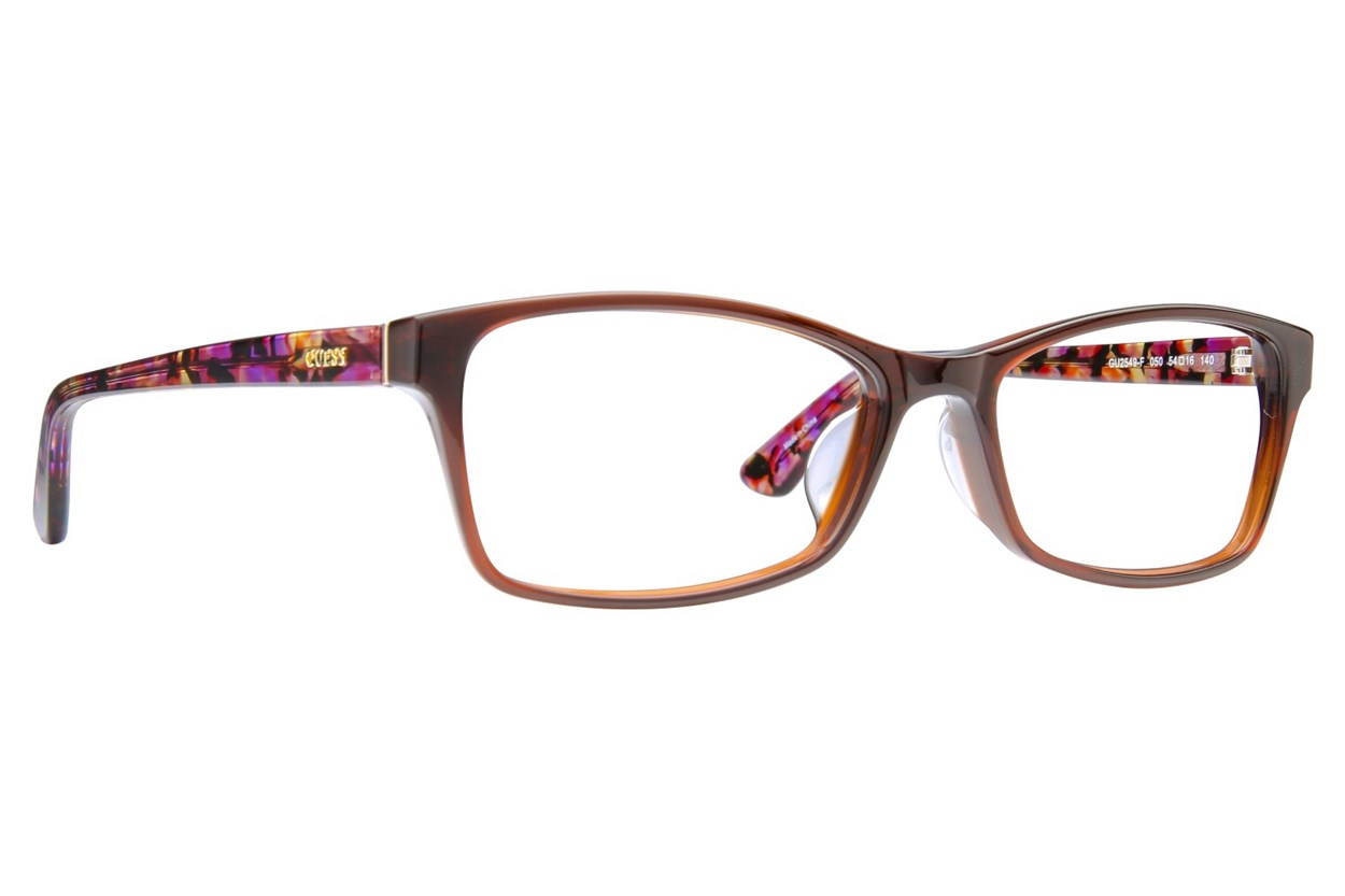 GUESS GU 2549-F Eyeglasses - Brown