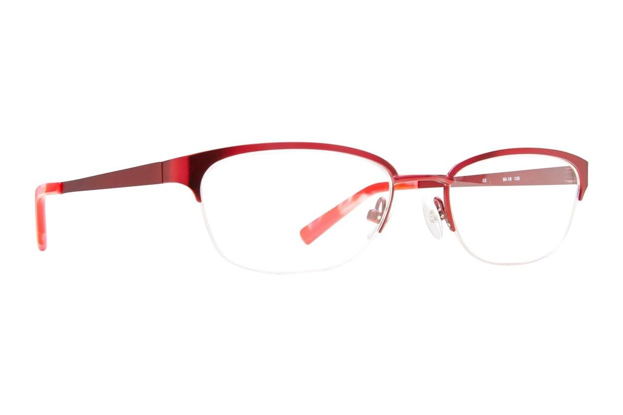 Flextra 2101 Eyeglasses - Red