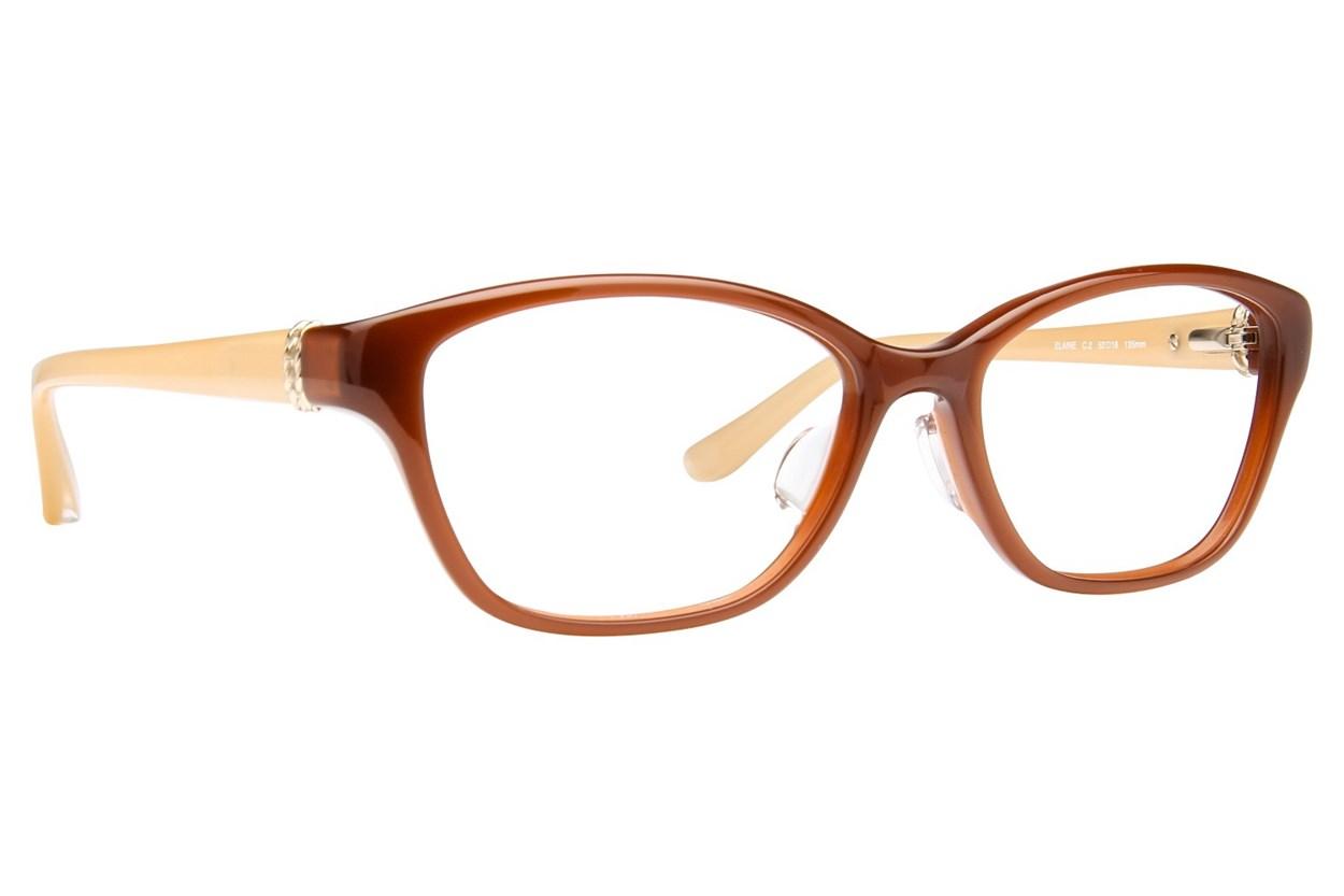 TC Charton Elaine Eyeglasses - Brown