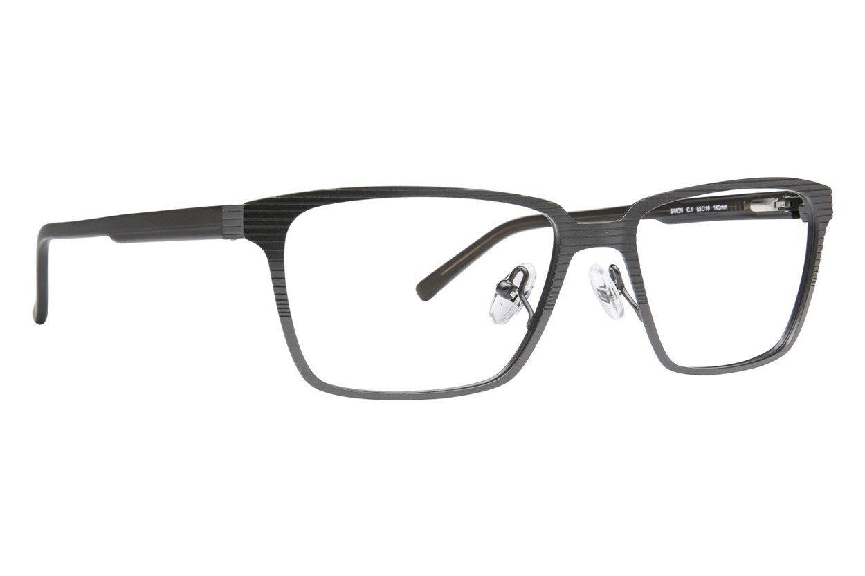 TC Charton Simon Eyeglasses - Black