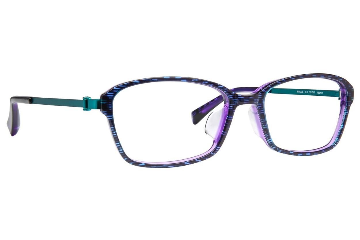TC Charton Wallis Eyeglasses - Purple