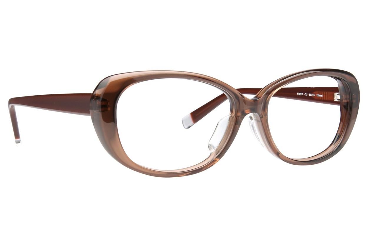 TC-Fit Kyoto Eyeglasses - Brown