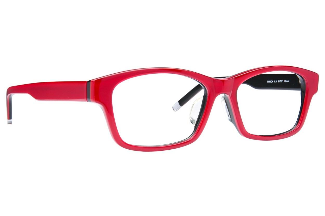 TC-Fit Munich Eyeglasses - Black