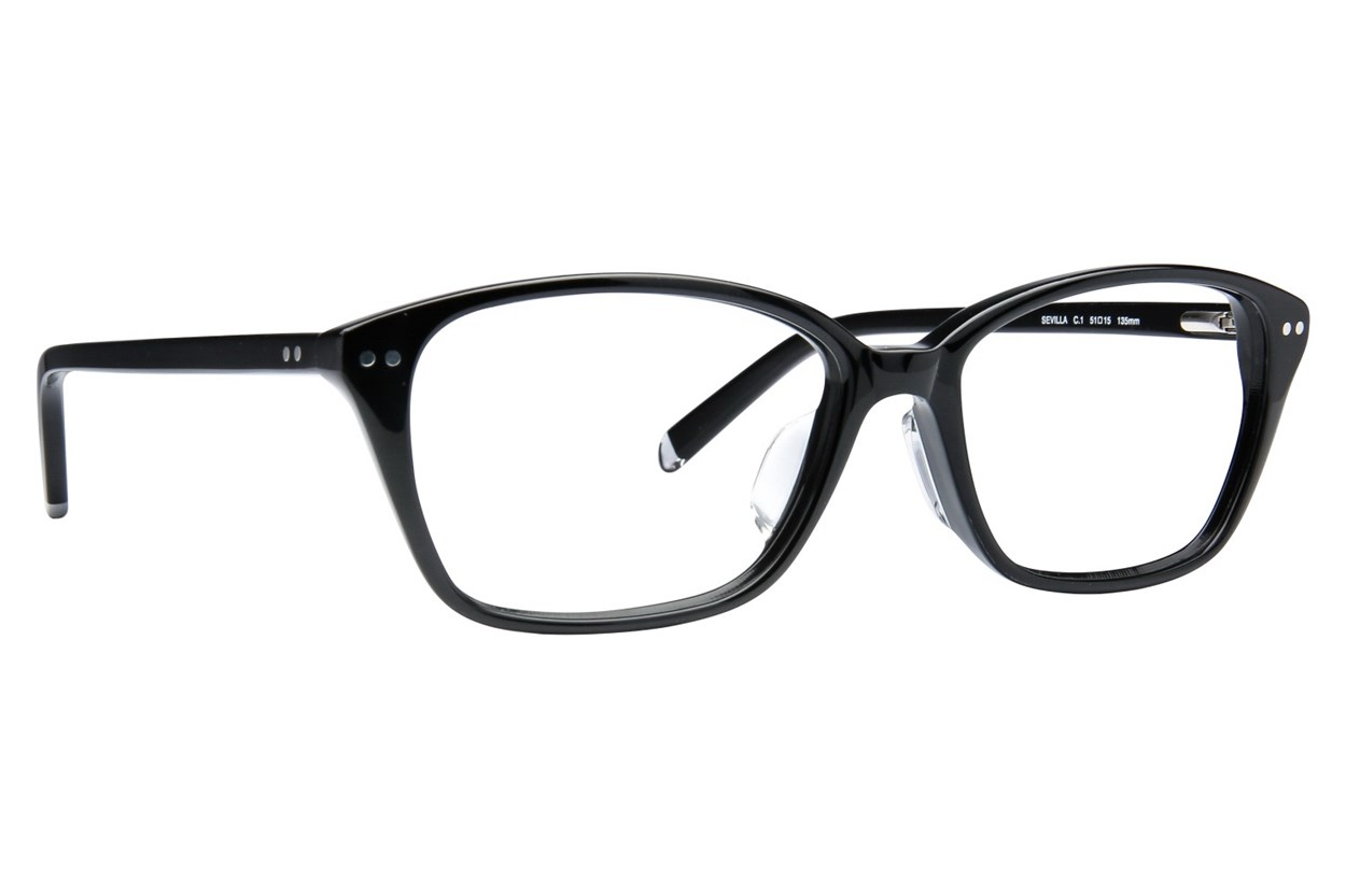 TC-Fit Sevilla Eyeglasses - Black