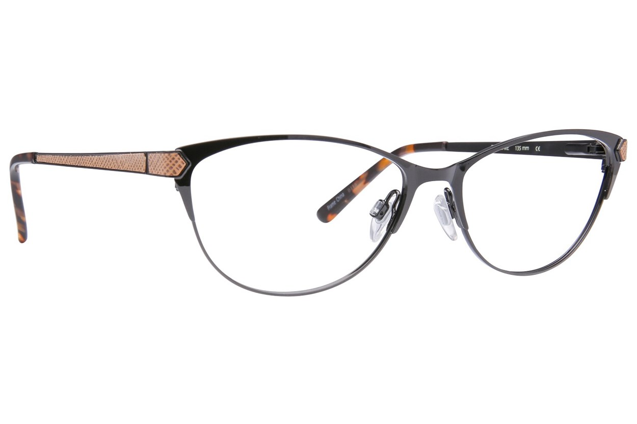 Via Spiga Elisa Eyeglasses - Black