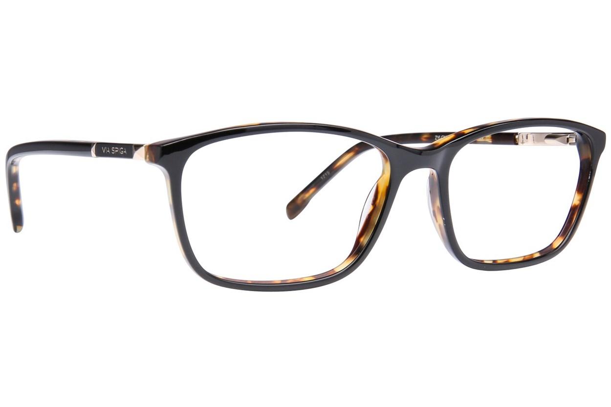 Via Spiga Evangelina Eyeglasses - Black