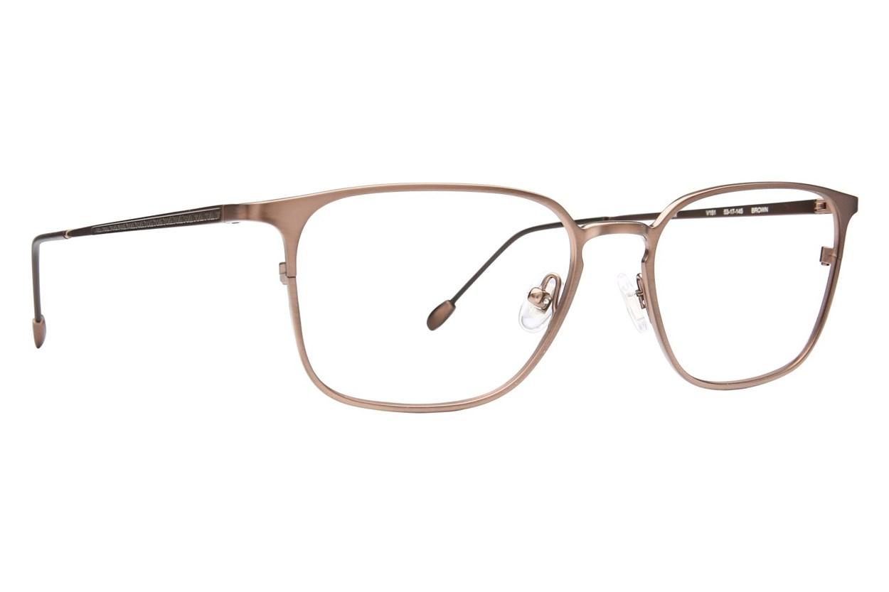 John Varvatos V151 Eyeglasses - Brown
