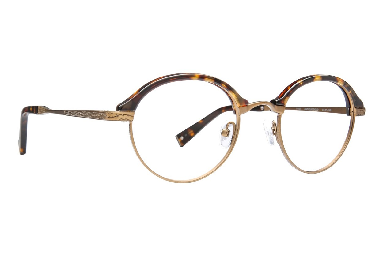 John Varvatos V152 Eyeglasses - Gold