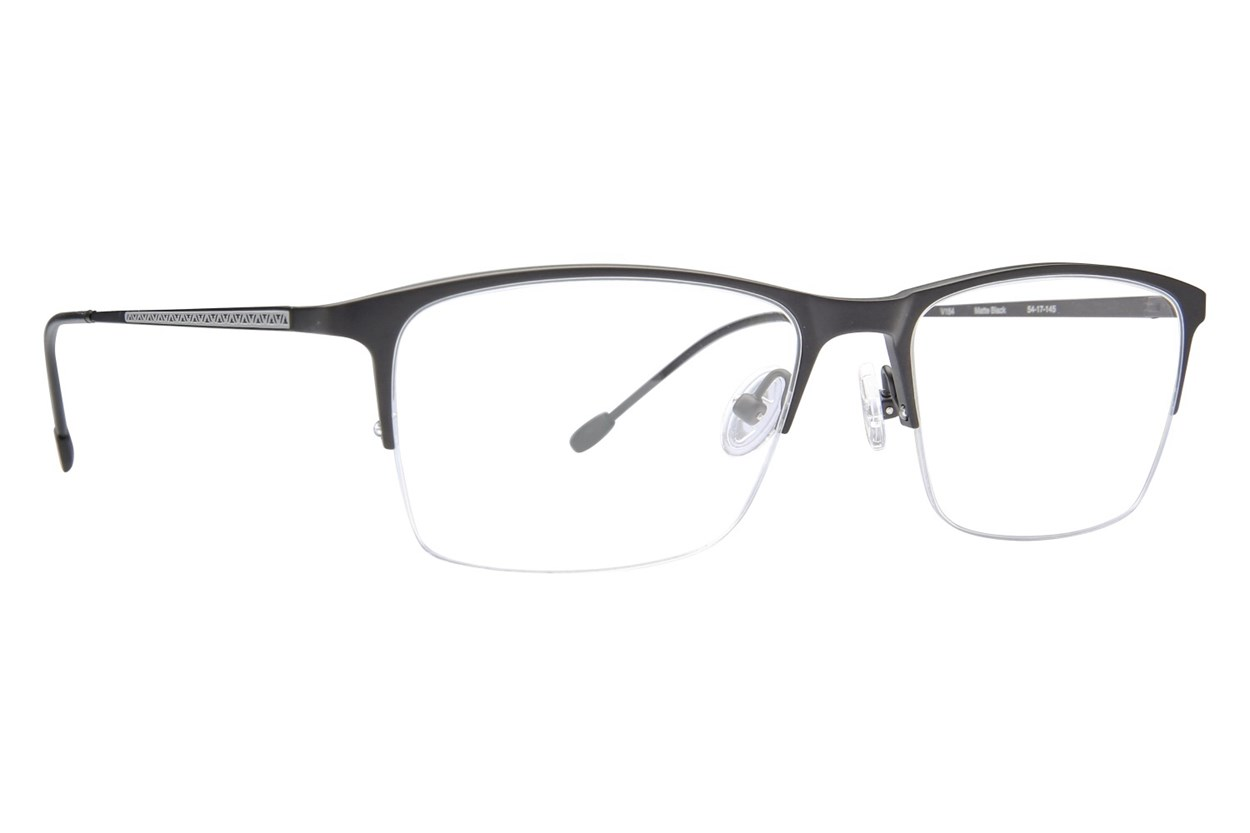 John Varvatos V154 Eyeglasses - Black