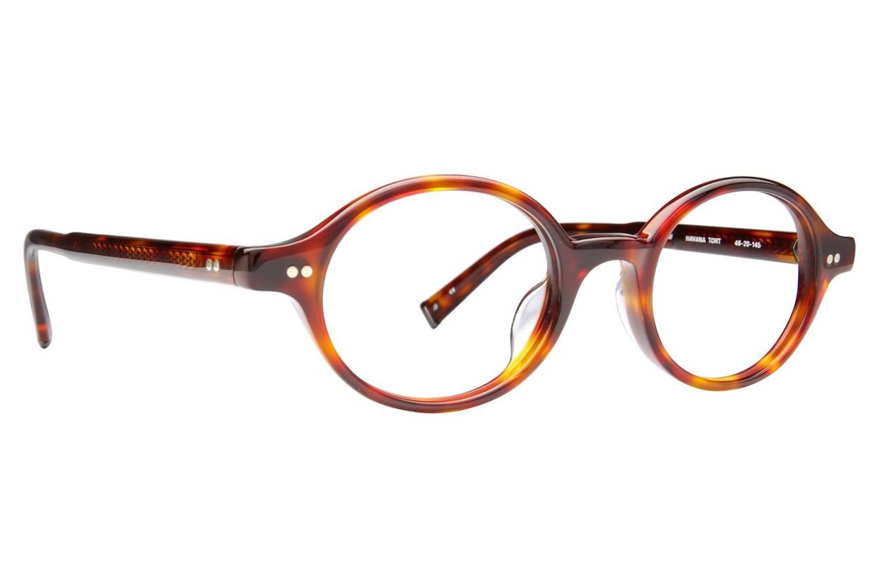 John Varvatos V206 Eyeglasses - Tortoise