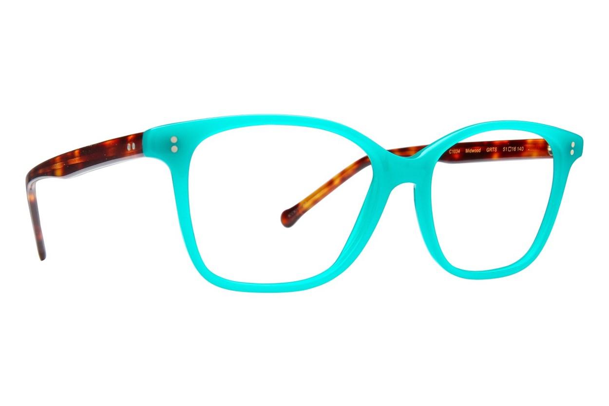 Colors In Optics Midwood Eyeglasses - Green