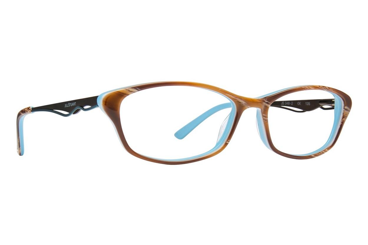 Jill Stuart JS 348 Eyeglasses - Brown