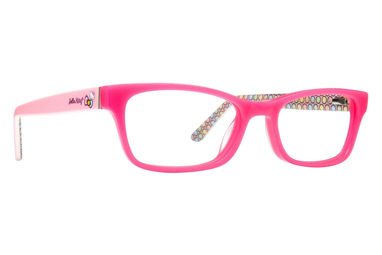 Hello Kitty HK262 Eyeglasses - Pink