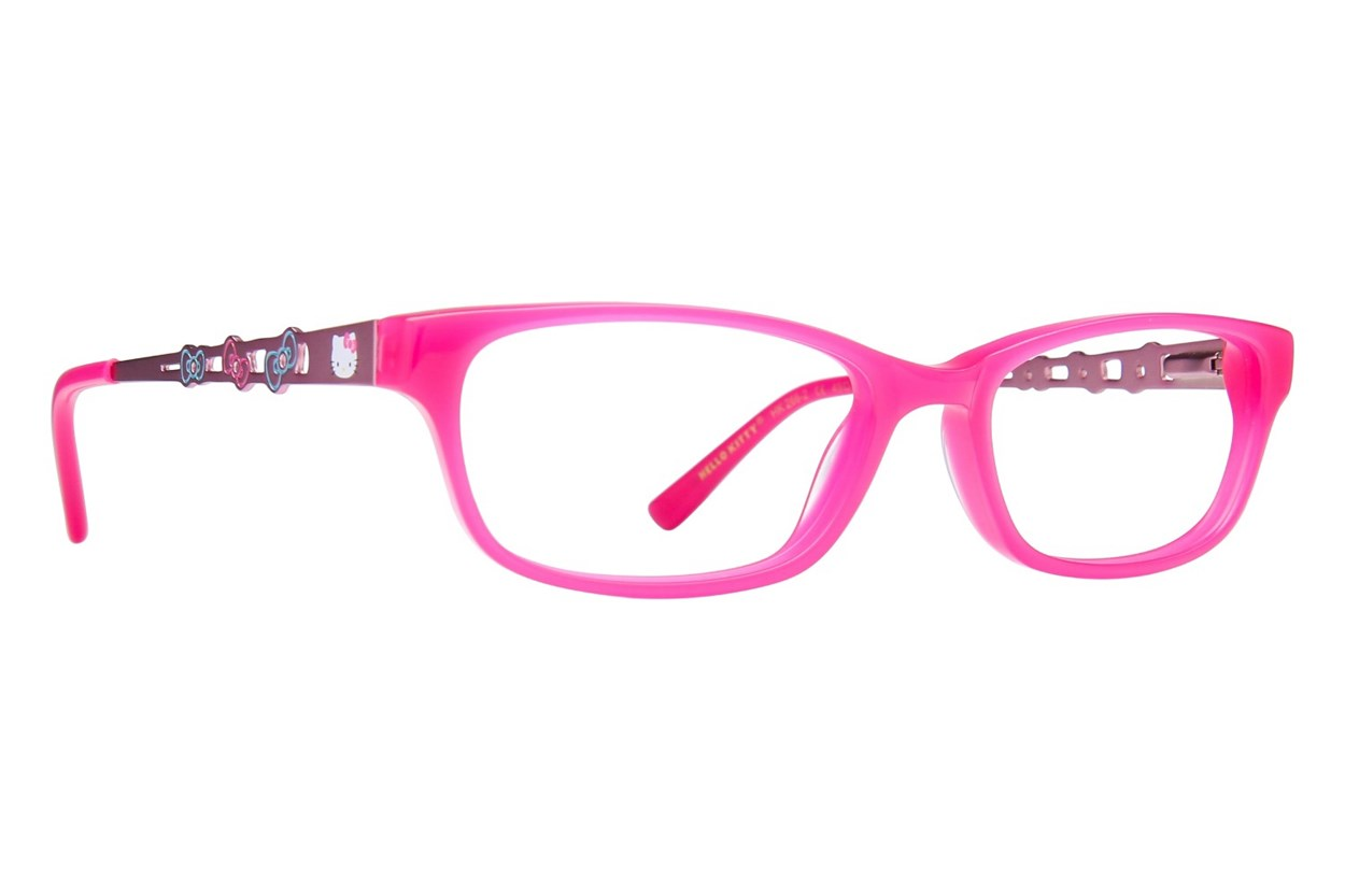 Hello Kitty HK266 Eyeglasses - Pink