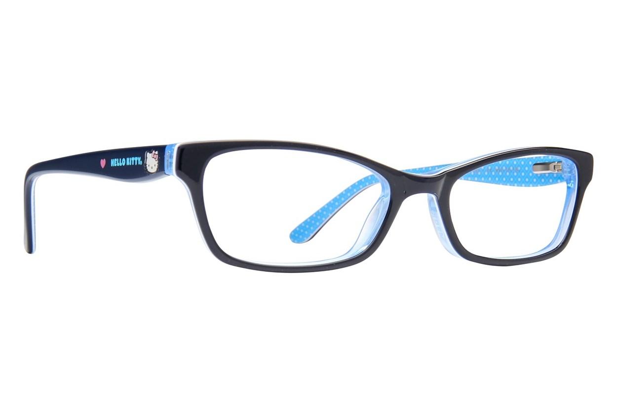 Hello Kitty HK268 Eyeglasses - Black