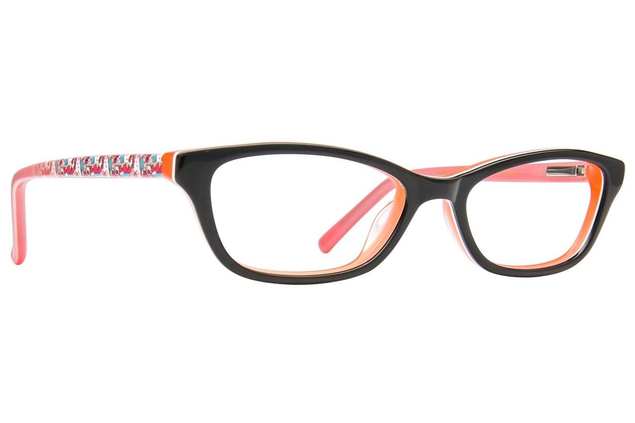Hello Kitty HK274 Eyeglasses - Black