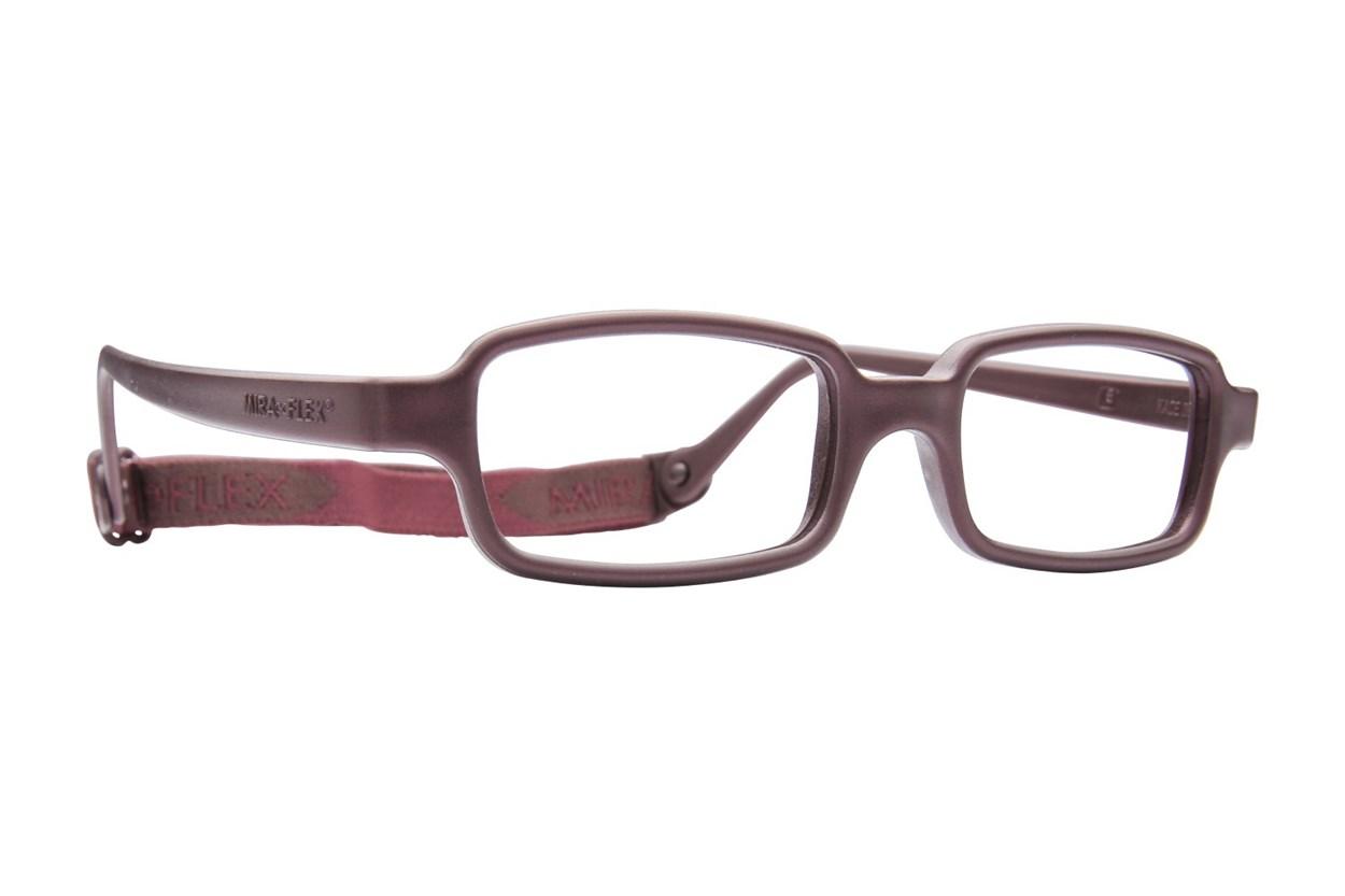Miraflex New Baby 2 (5-8 Yrs) Eyeglasses - Brown
