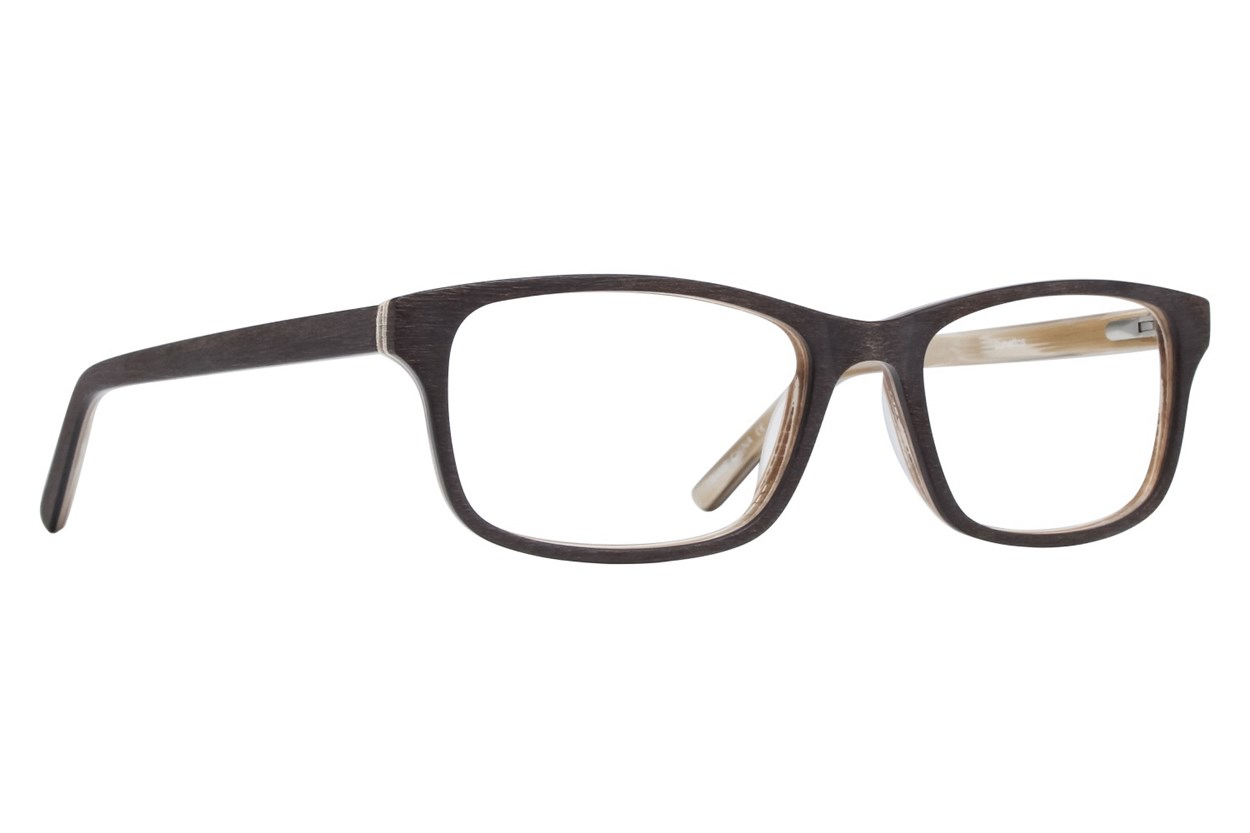Lunettos Andy Eyeglasses - Brown