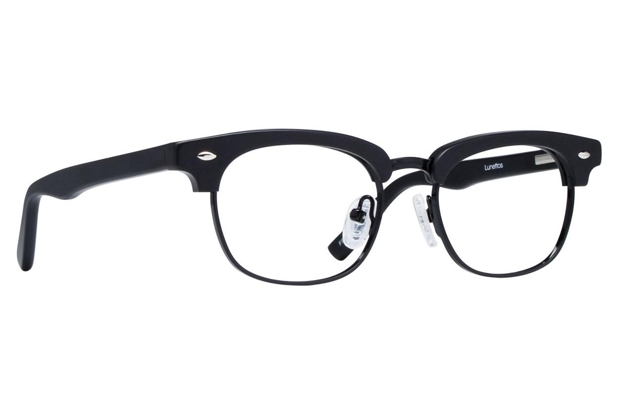 Lunettos Cameron Eyeglasses - Black