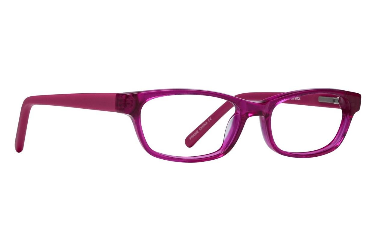 Lunettos Dakota Eyeglasses - Red