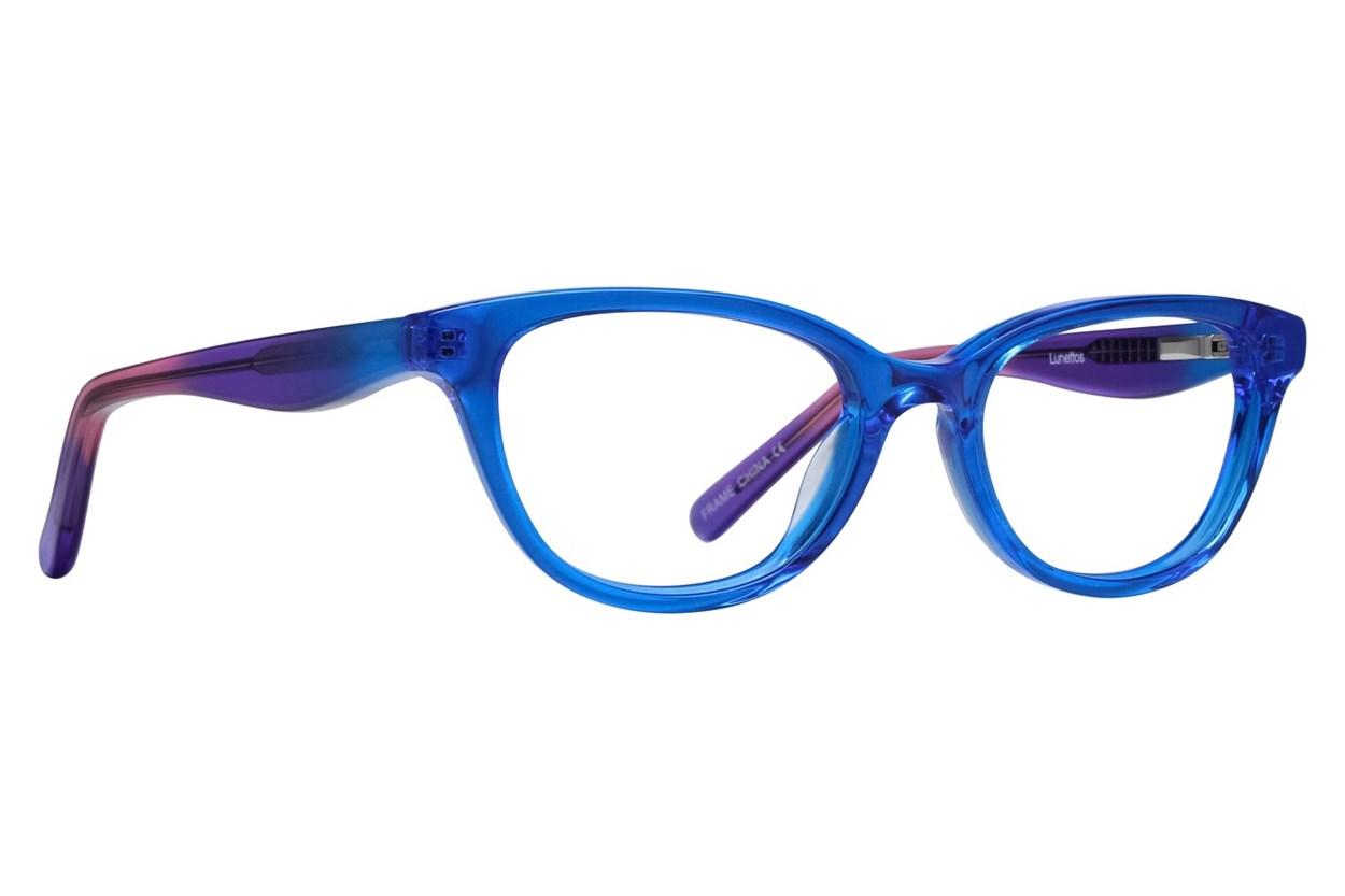Lunettos Declan Eyeglasses - Blue
