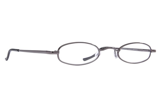 I Heart Eyewear Tube Reading Glasses ReadingGlasses - Gray