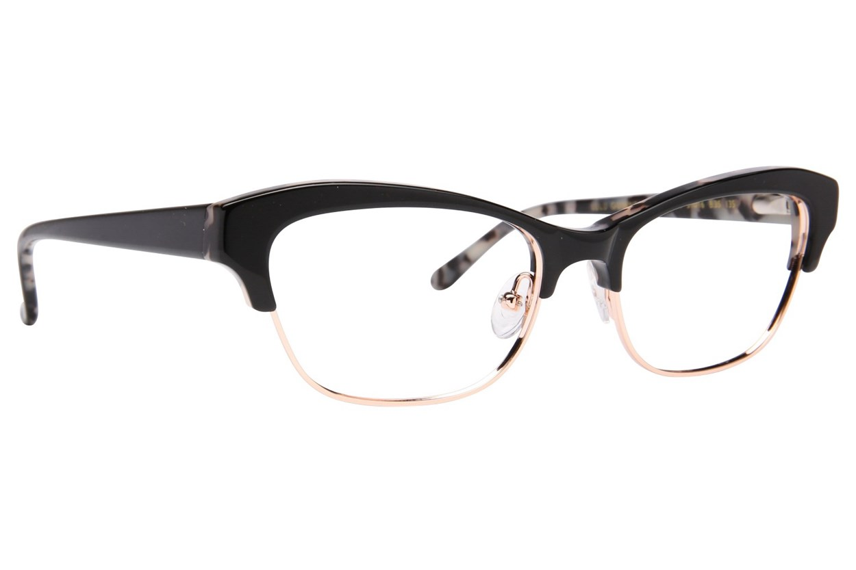 Lulu Guinness L776 Eyeglasses - Black