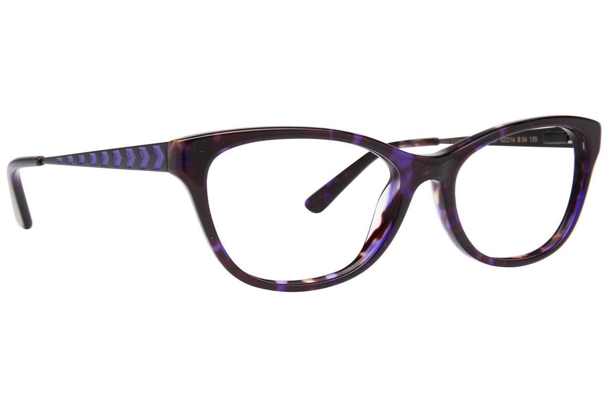 Lulu Guinness L897 Eyeglasses - Blue