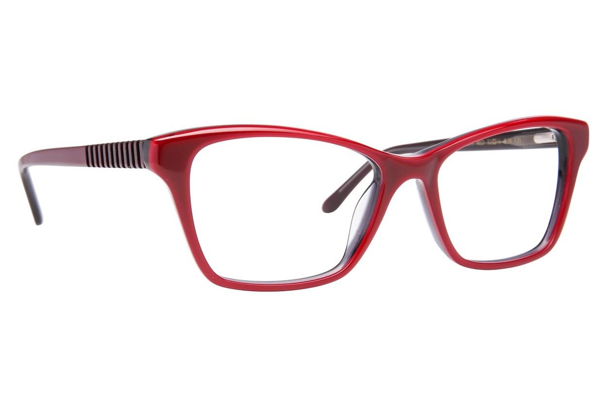 Lulu Guinness L899 Eyeglasses - Red