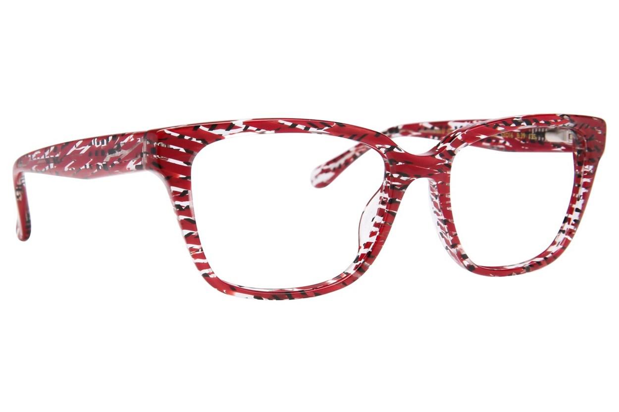 Lulu Guinness L906 Eyeglasses - Red
