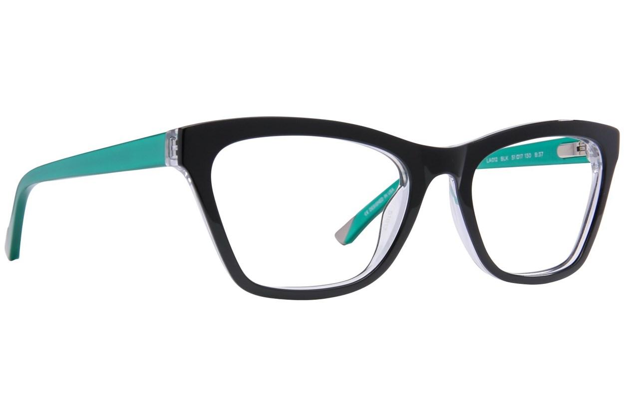 L.A.M.B. By Gwen Stefani LA012 Eyeglasses - Black