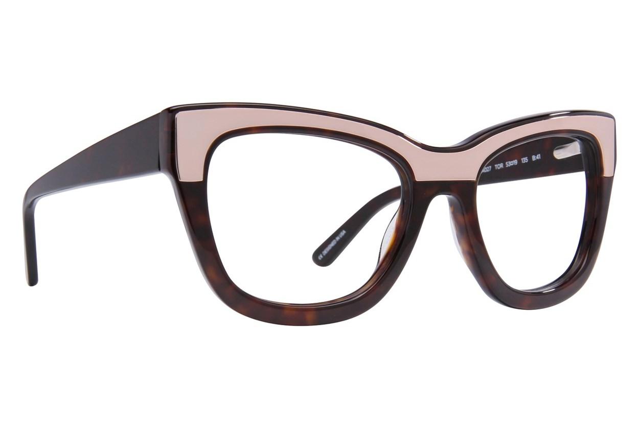 L.A.M.B. By Gwen Stefani LA027 Eyeglasses - Tortoise