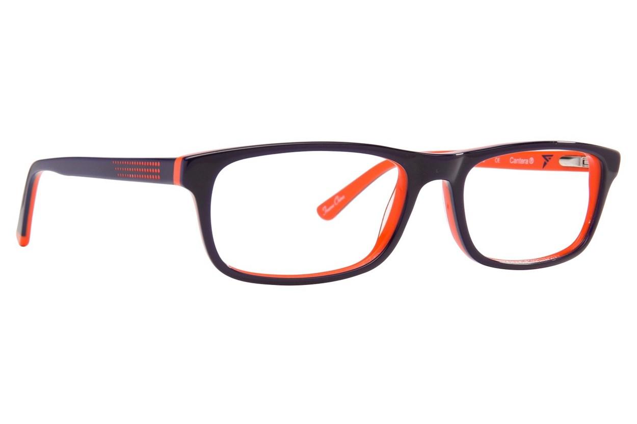 Cantera Curveball Eyeglasses - Orange