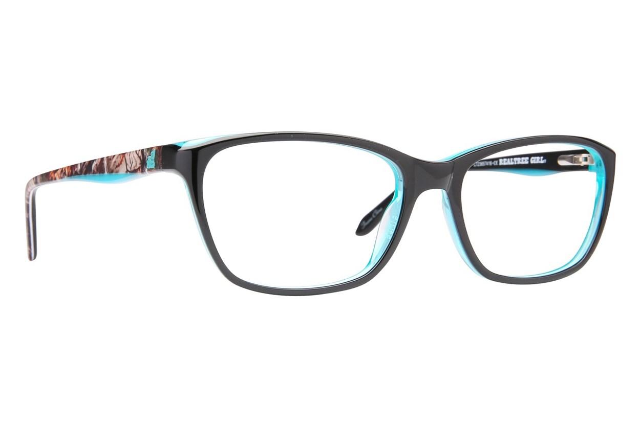 Realtree Girl G302 Eyeglasses - Black