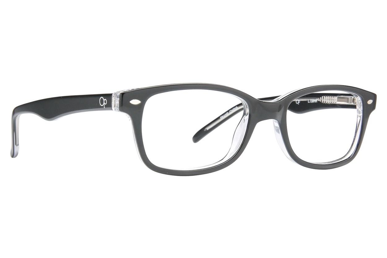 Ocean Pacific 817 Eyeglasses - Black